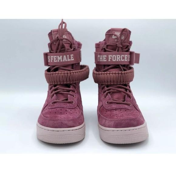 5e26ace1e2f5f Nike AF1 SF FIF Vintage wine rose AJ1700-600. M_5c984b92f63eea010502a998